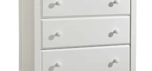 White 5 Drawer Dresser