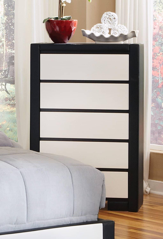 black and white dresser white dressers. Black Bedroom Furniture Sets. Home Design Ideas