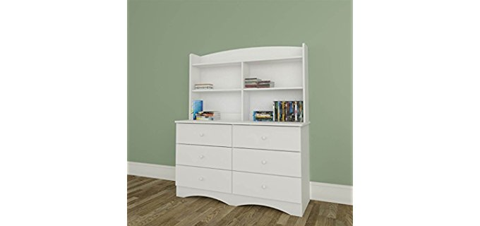 White Dresser with Hutch White Dressers