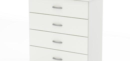 small-white-dresser
