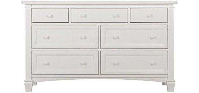 Evolur Fairbanks - Winter White Double Dresser