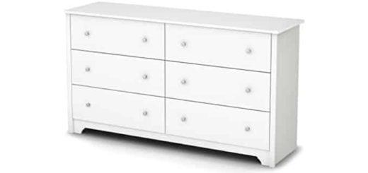White Long Dresser
