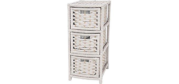 Oriental Furniture 25 - Natural Fibre Occasional and Affordable Dresser
