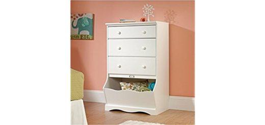 Girl Dresser in White