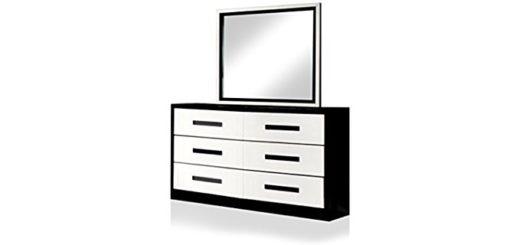Black and White Dresser