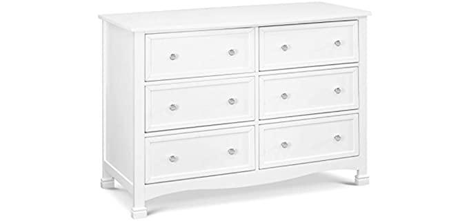 DaVinci Kalani - 6-Drawer Long Dresser in White