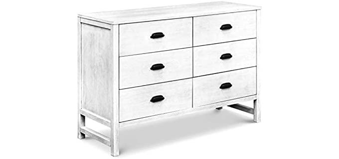 DaVinci  Fairway - 6 Drawer Double Dresser in Cottage White