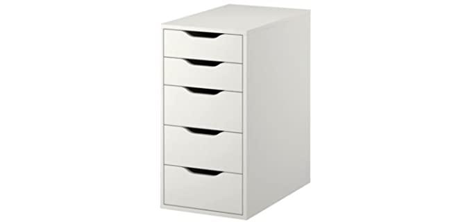 Ikea Alex - Five White Drawer Dresser