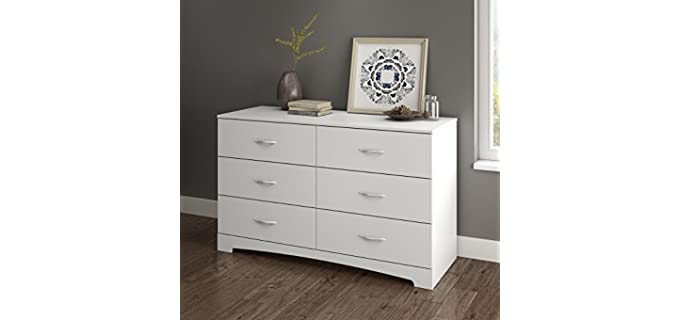 South Shore Step One - 6-Drawer Double Bedroom Dresser