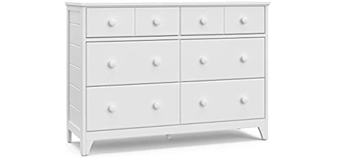 Storkcraft  Moss  - 6 Drawer Universal Double Dresser