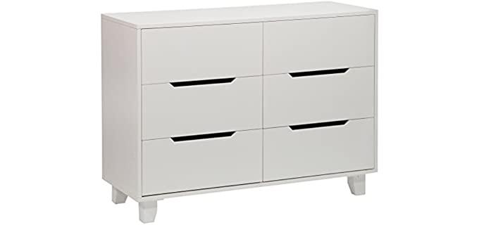 Angel Line Madison - 6 White Drawer Double Dresser