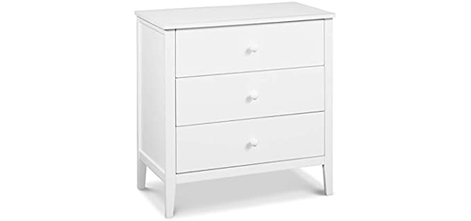 Carter's by DaVinci Morgan - Small Drawer Dresser in White