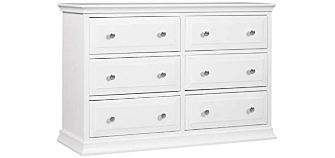 Davinci Signature - 6-Drawer Double Dresser in White