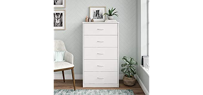 Dresser Mainstays - White Cheap 5 Drawer Dresser