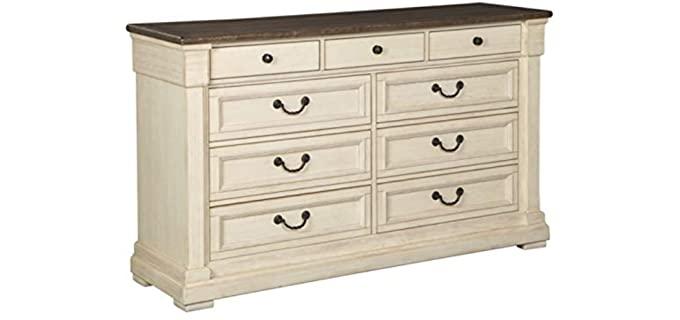 Signature Design by Ashley Bolanburg - Antique White Dresser