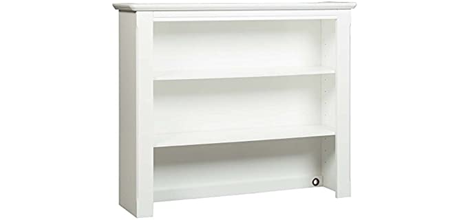 Westwood Design  Monterey - Hutch White Dresser with Touchlights